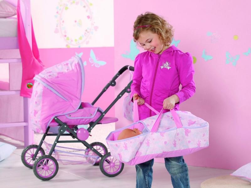 Как сделать коляску для беби бона своими руками из коробки
