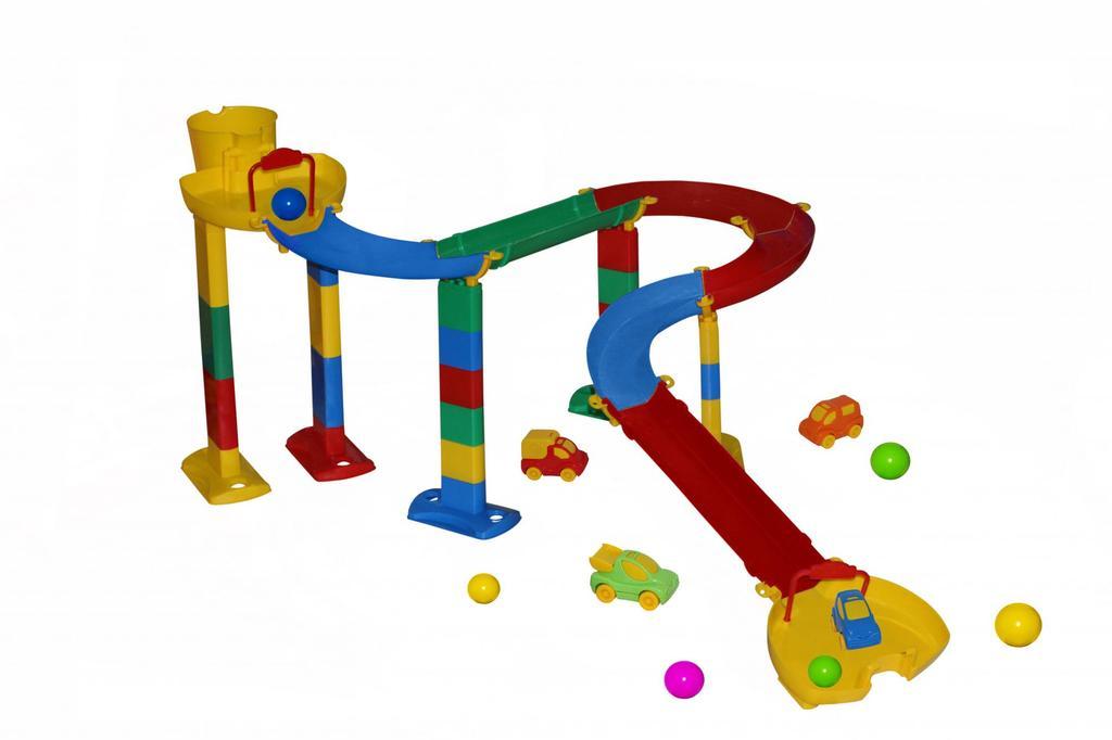 Игрушка горка с шариками