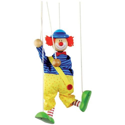 Клоун на ниточках своими руками